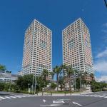 新浦安駅徒歩2分のタワーマンション。(外観)