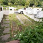専用駐車場付き住戸です。外水栓が付いています。
