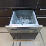 キッチンにはビルトイン食洗機付き。